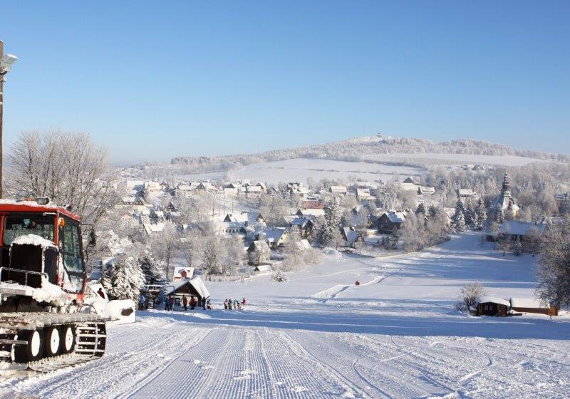 Skilift Seiffen - Wintersport im Erzgebirge